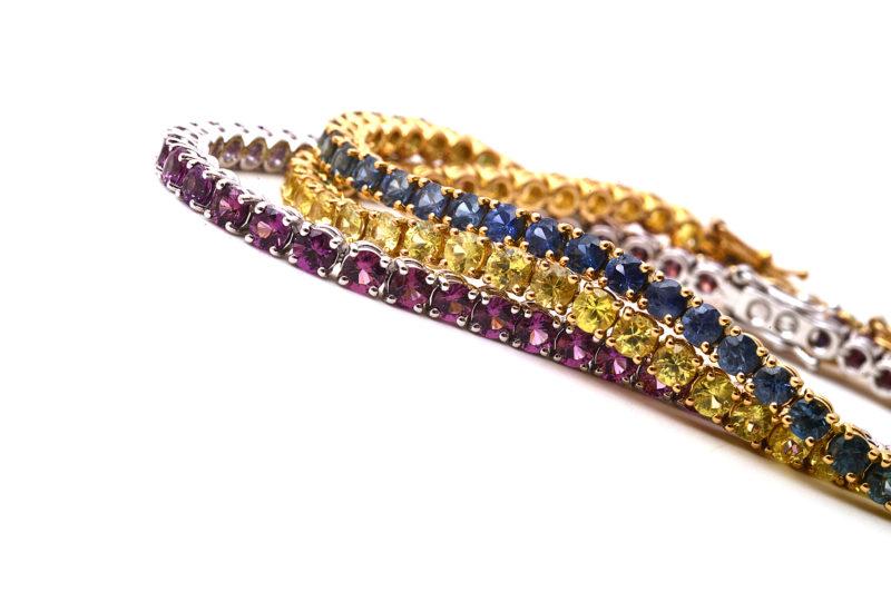 Armband mit Farbverlauf